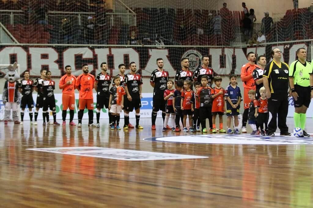 6e584e5282 O JEC Krona estreia na Copa do Brasil de Futsal nesta segunda-feira (14)