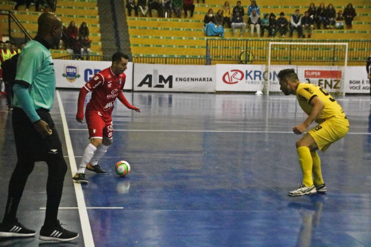 d854dbfeb2 O JEC Krona decide em casa a classificação às quartas de final da Copa do  Brasil de Futsal. Nesta sexta-feira (22)