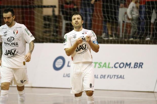 f1d3b55cba O JEC Krona estreia nos playoffs da Liga Nacional de Futsal 2018 nesta  terça-feira (16)