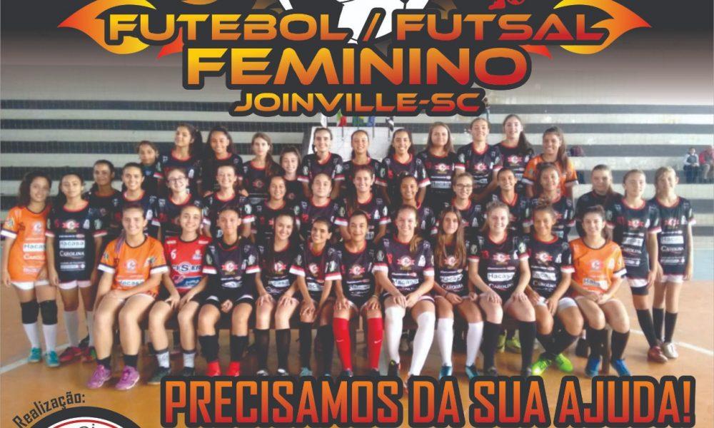 Equipe de futebol e futsal feminino de Joinville busca apoiadores – Esporte  Joinville 1f40237ba27ec