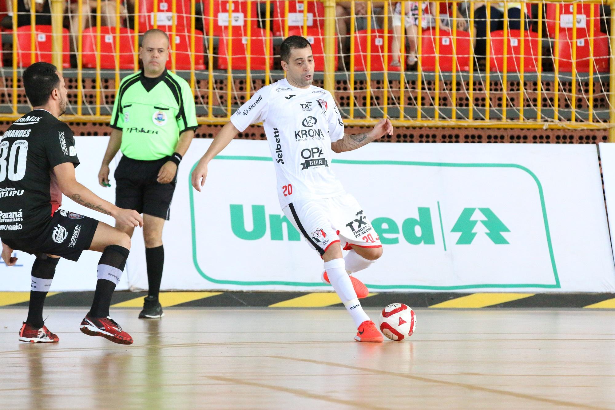 3e1904cdac915 JEC Krona perde em sua estreia na Liga Nacional de Futsal - Esporte ...