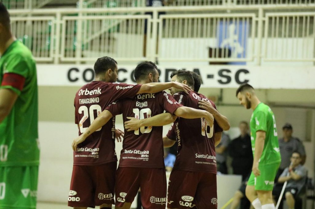 Concórdia 0X4 JEC/Krona Futsal