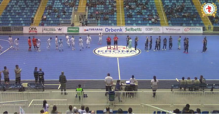 Gols de Tubarão 3×0 JEC/Krona pelo Catarinense de Futsal