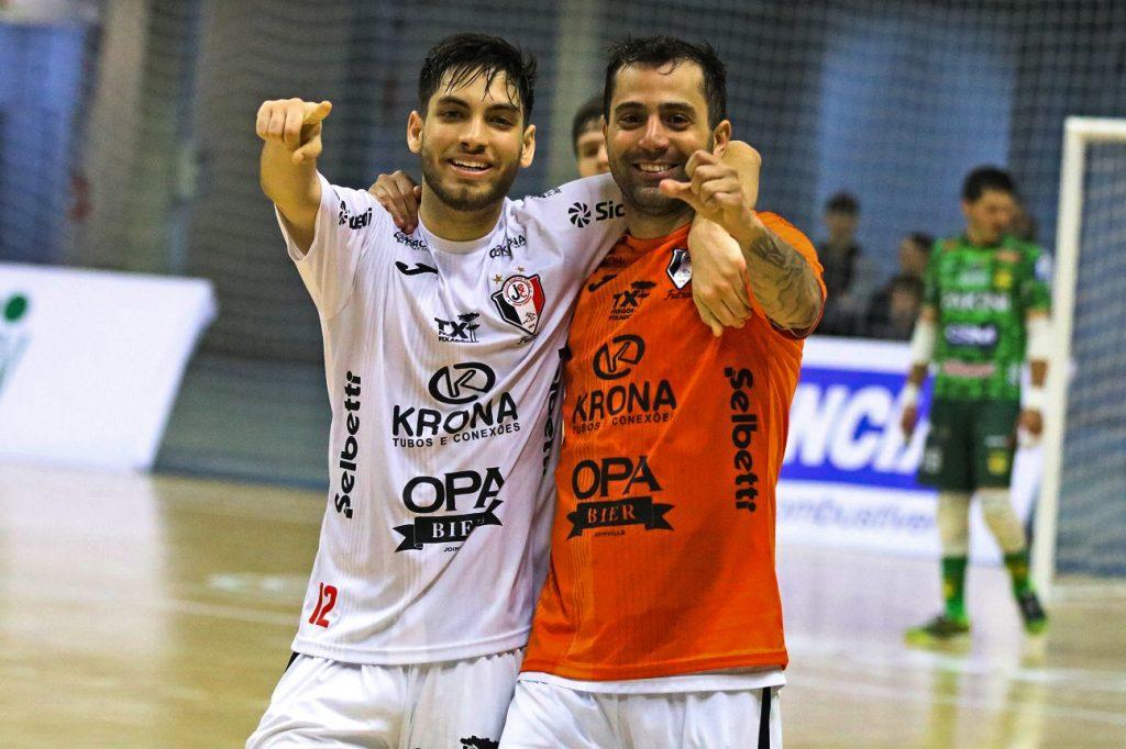 Jogo completo: Jaraguá 2X4 JEC/Krona Futsal – Estadual 2019
