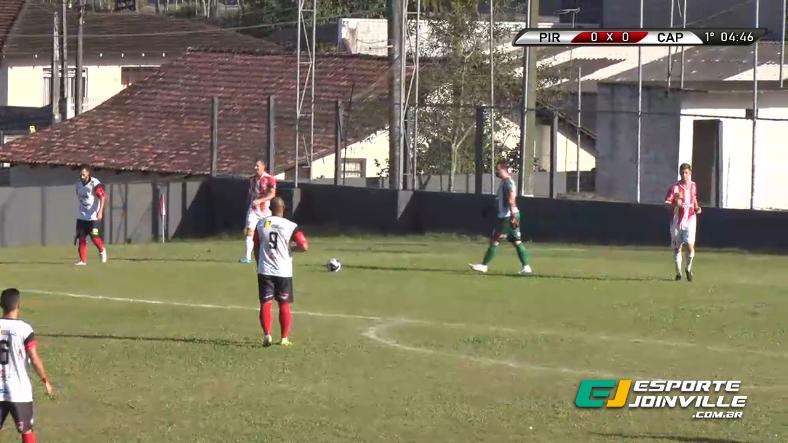 Assista aos melhores momentos da partida entre Pirabeiraba 2×3 Paraíba