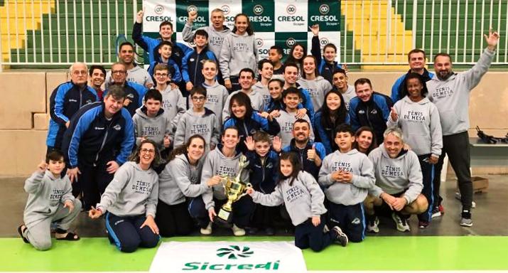 Circuito Tenis : Joinville vence terceira etapa do circuito catarinense de tênis de