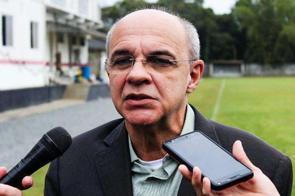 Eduardo Bandeira de Mello, ex-presidente do Flamengo, avalia plano de reestruturação do JEC
