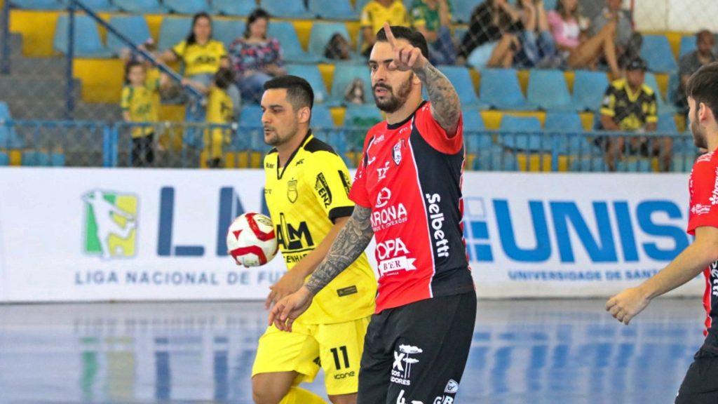 Gols: Assoeva 1×4 JEC/Krona – Oitavas de final da LNF 2019