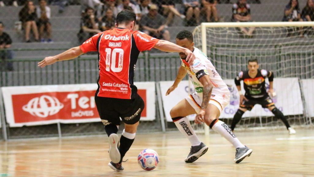 Gols: Blumenau 6×4 JEC/Krona – quartas de final do Campeonato Catarinense