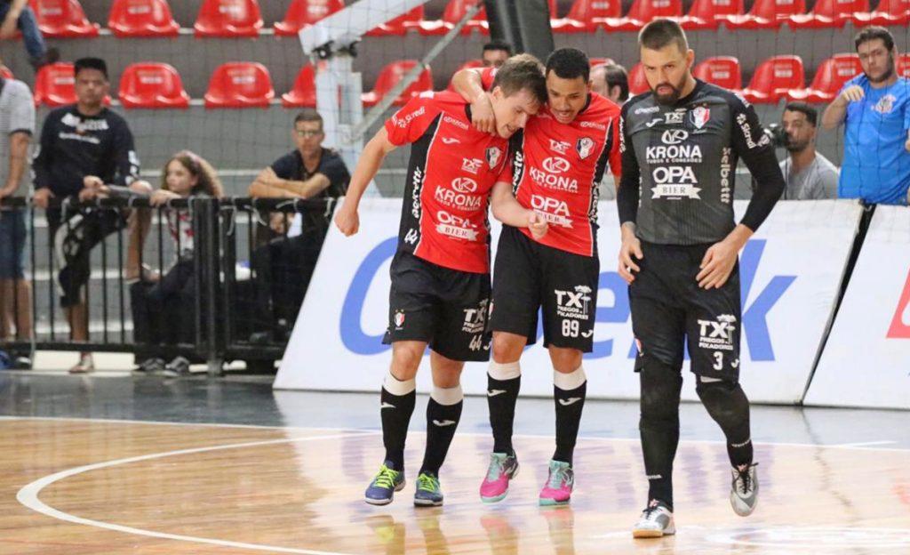 Gols: Corinthians 2×2 JEC/Krona – quartas de final da Liga Nacional de Futsal
