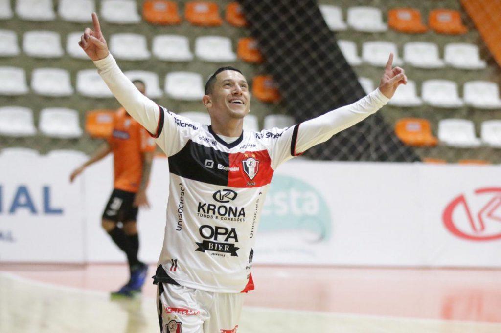 Gols: Carlos Barbosa 2 x 2 JEC/Krona – LNF 2020