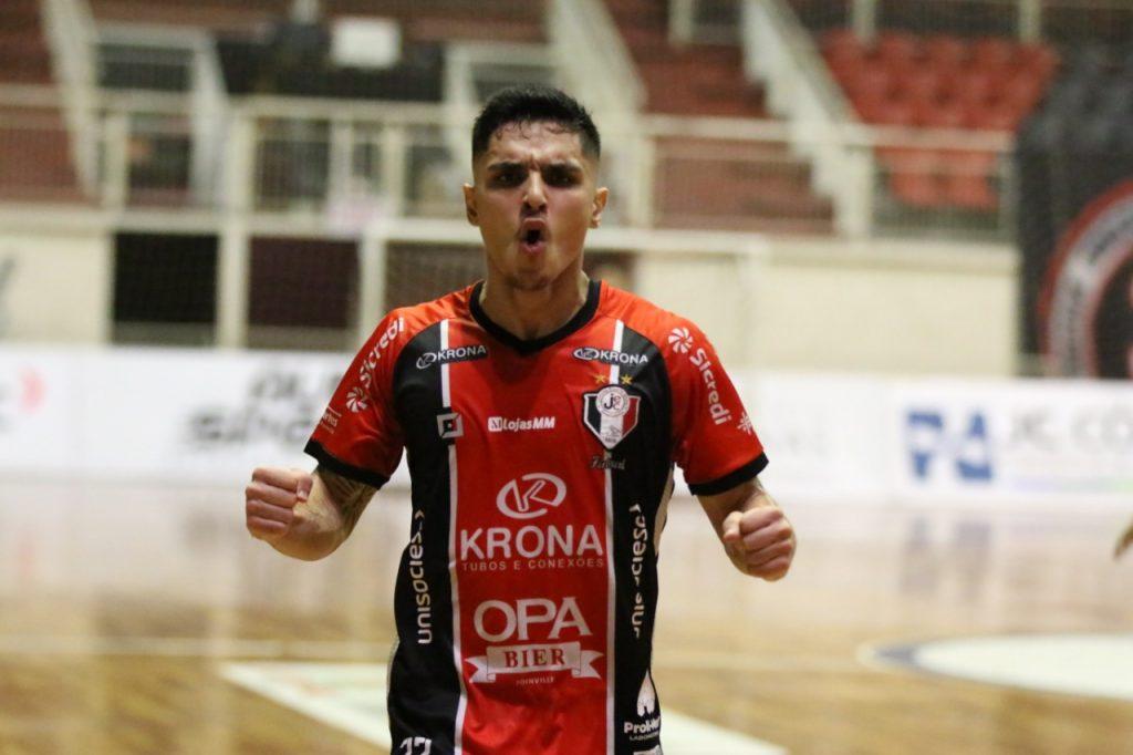 Gols: JEC/Krona 4 x 4 Joaçaba – Catarinense de Futsal