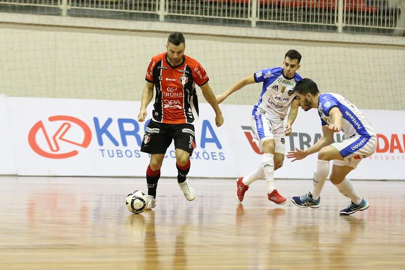Gols: JEC/Krona 2(2) x (0)3 Pato – quartas de final – LNF 2020