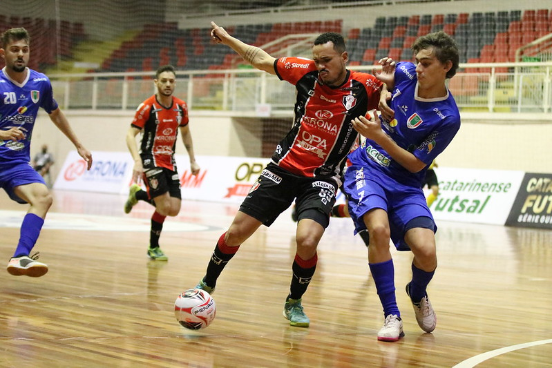 Melhores Momentos: JEC/Krona 6×0 Concórdia – Catarinense de Futsal