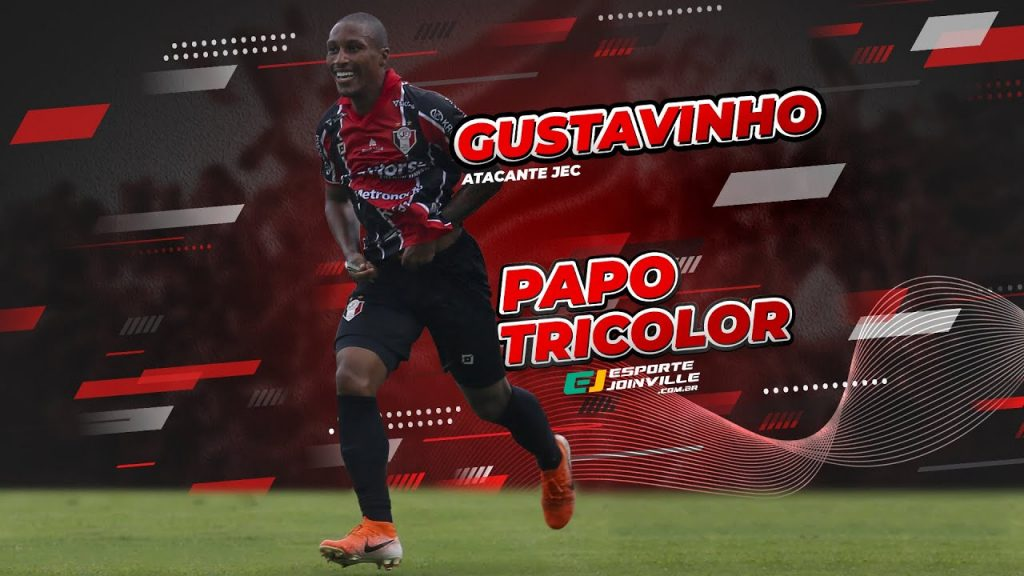 Papo Tricolor com Gustavinho, o homem gol do JEC neste início de 2021