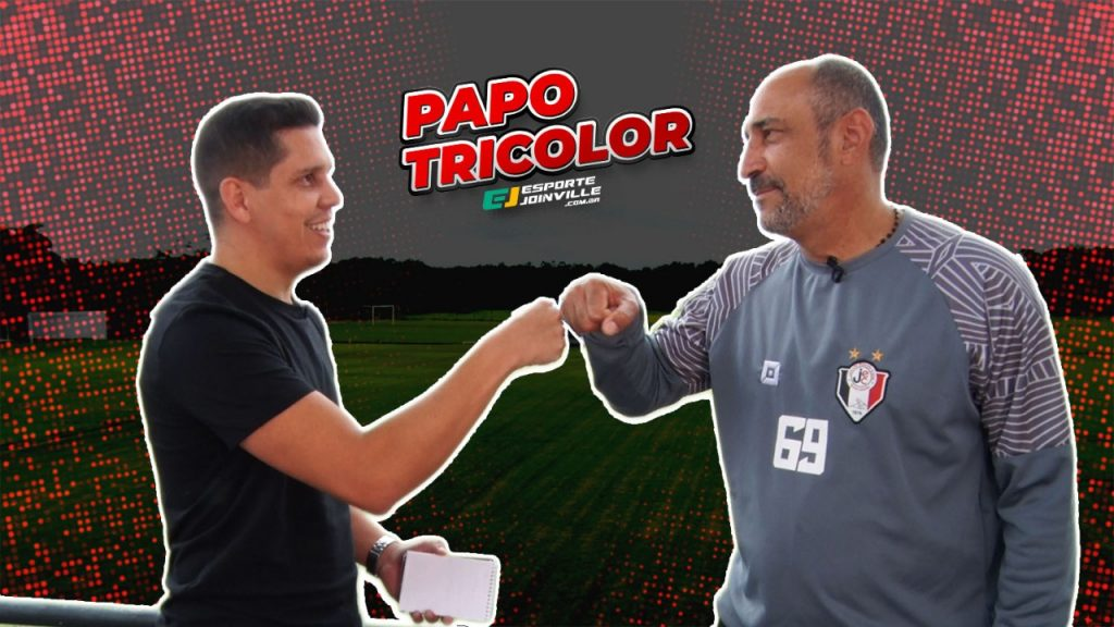Papo Tricolor com Vinícius Eutrópio, técnico contratado pelo JEC para 2021